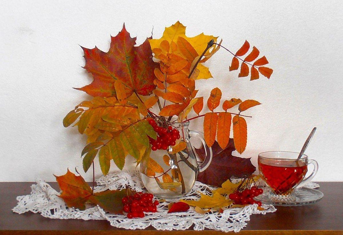 Открытки с листьями осень, января картинки красивые