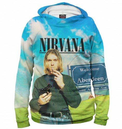 Худи для мальчика Kurt Cobain