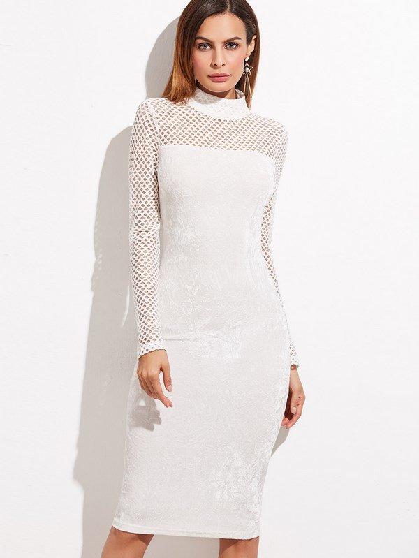 красивые белые платья фото