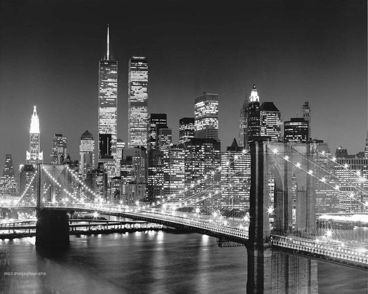 под город фото черно белые мостовая загородных