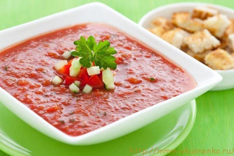 Суп гаспачо классический рецепт