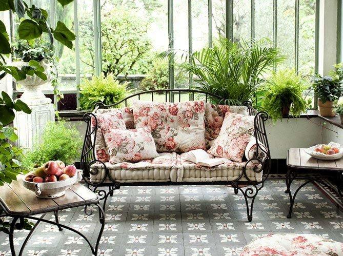 Живые растения в интерьере комнатные растения