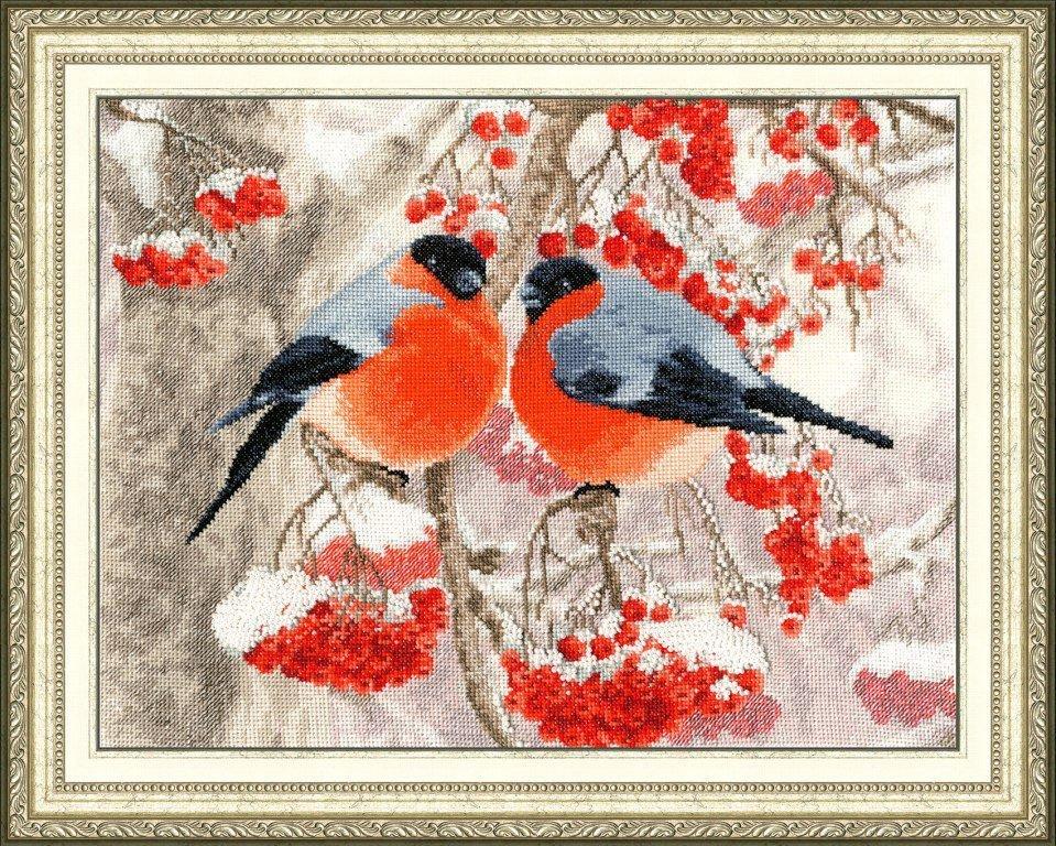 Для, панна открытка снегири