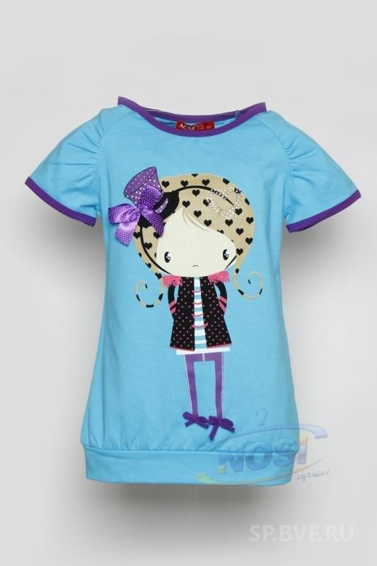 модная футболка для девочек