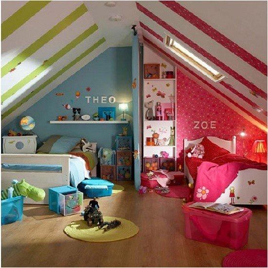 Какой цвет лучше подойдет для детской комнаты: правила сочетания и 6