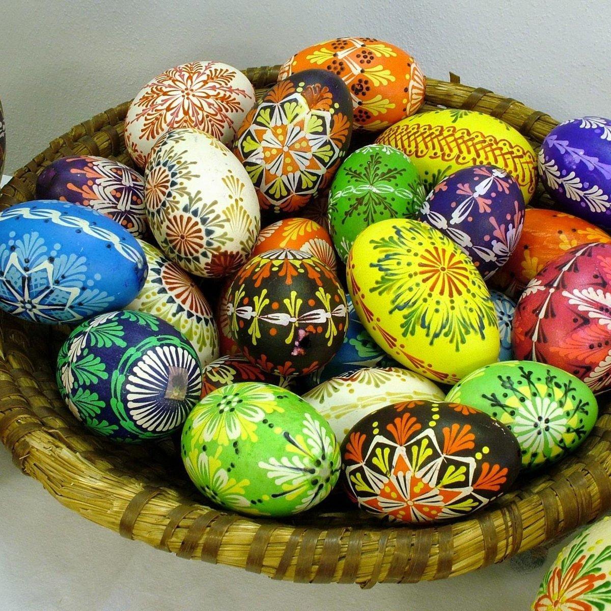Пасхальные яйца красивые узоры
