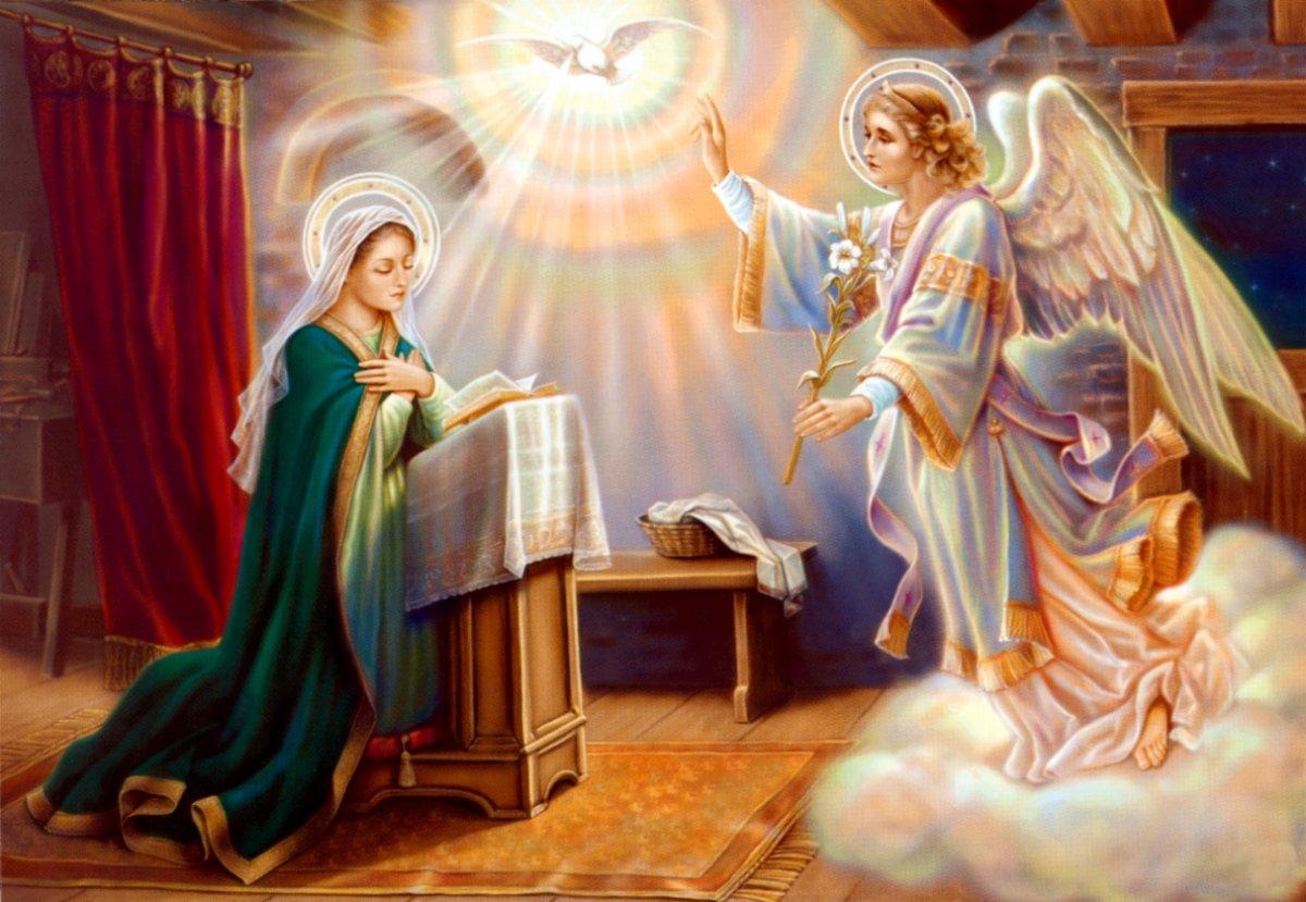 Благовещение Богородицы выпало наВеликую субботу в этом году
