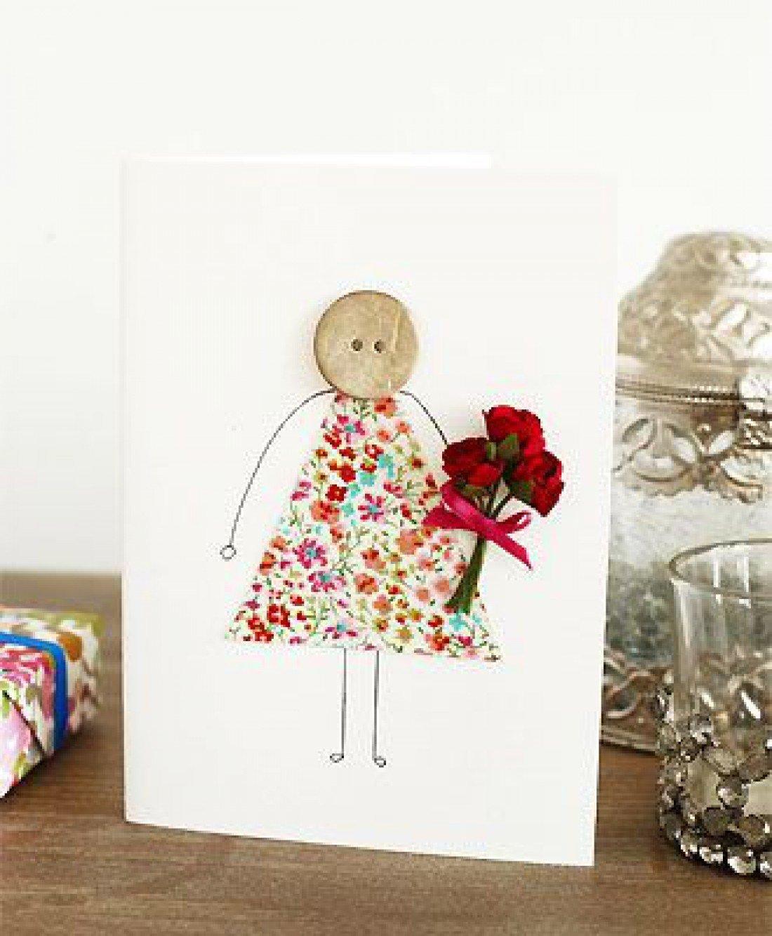 Интересные идеи для открыток на день матери, открытка рождеству