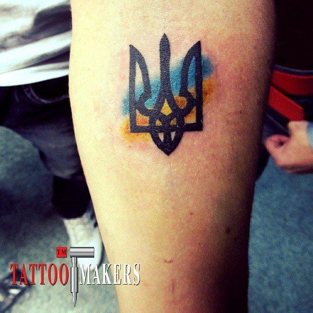 декор, представленный тату с гербом украины фото порно рассказа как