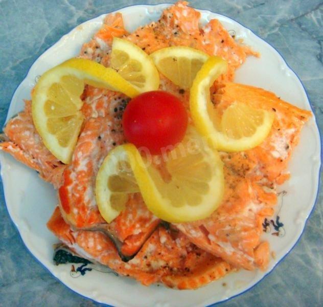 Запечь рыбу простой способ