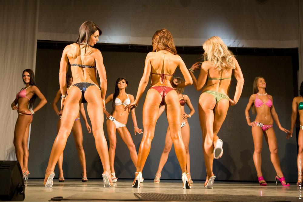 Bikini fitness girls model contest, fem dom cartoon bdsm