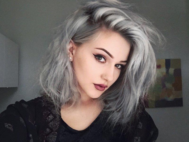 Как сделать пепельный цвет волос