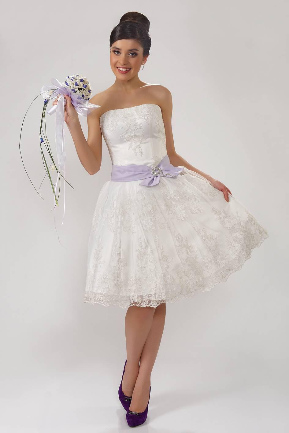 Короткое пышное платье своими руками фото 382
