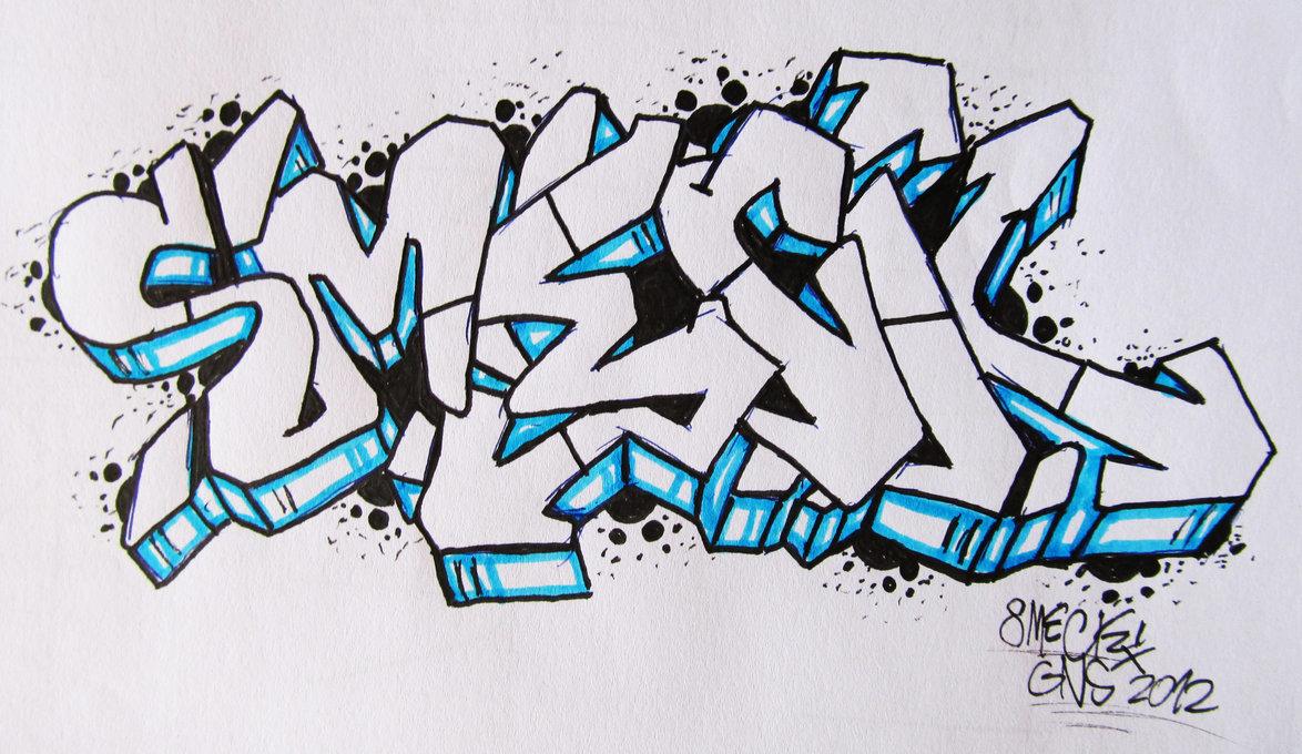Для, поэтапные прикольные рисунки граффити
