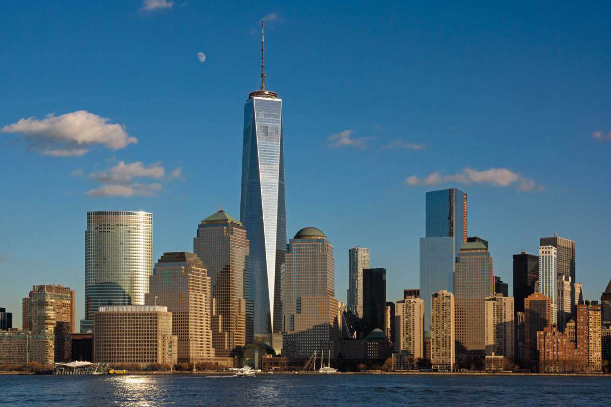 Всемирный торговый центр 1 или Башня Свободы, Нью-Йорк, США ... 4ed6f9f7e4b