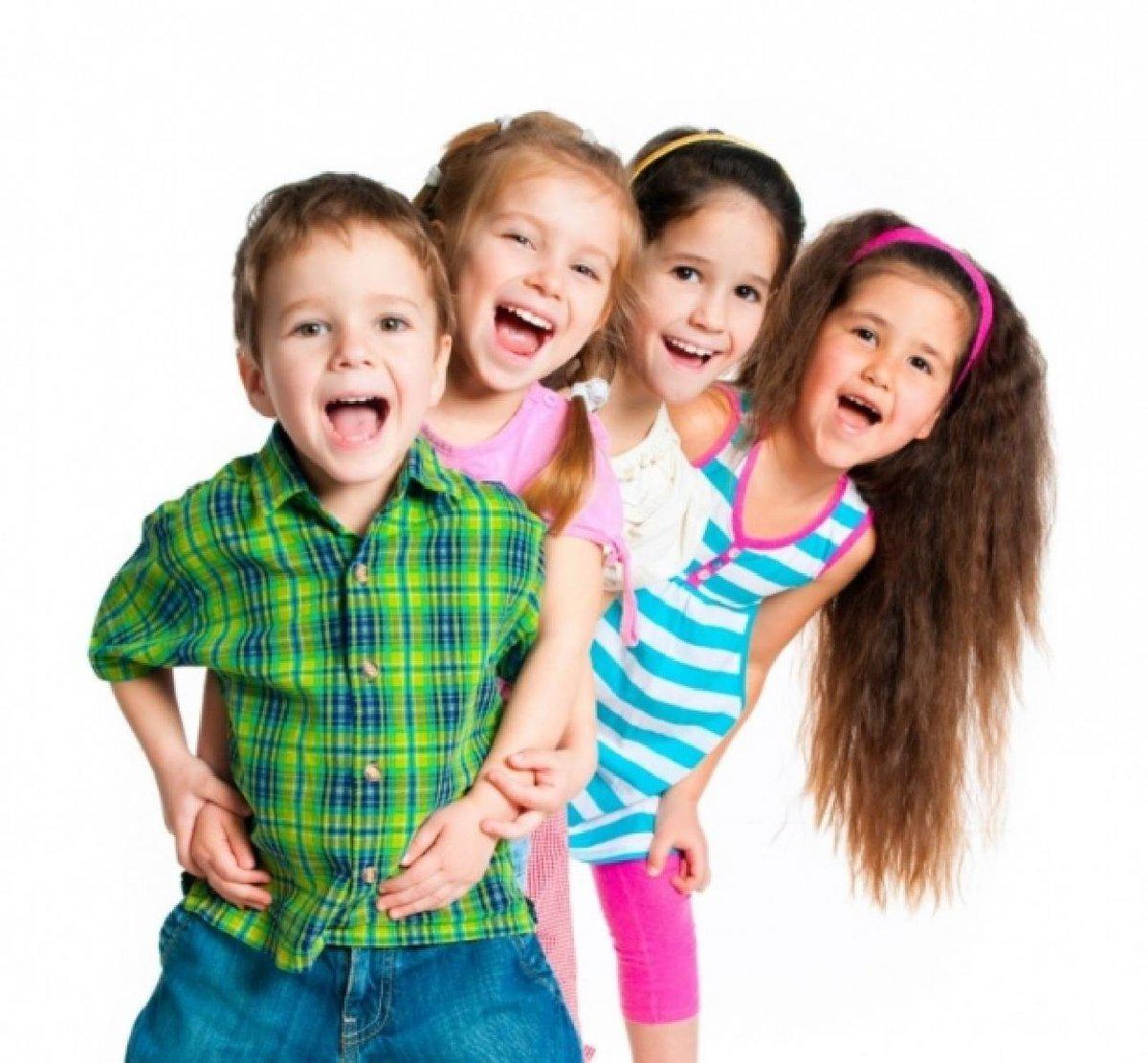 Дети веселые картинки