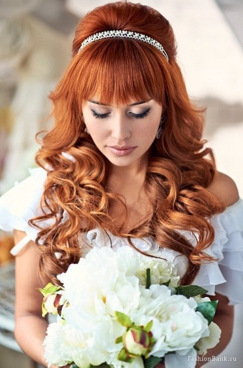 Колорирование рыжих волос HAIR FRESH