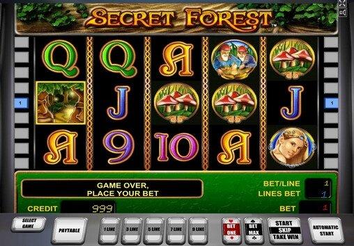 Игровые автоматы играть бесплатно секрет форест игратьон лайн без смс без регистрации игровыеавтоматы