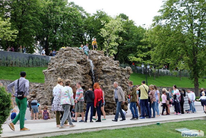 На конец-то Стамбульский парк открыт.