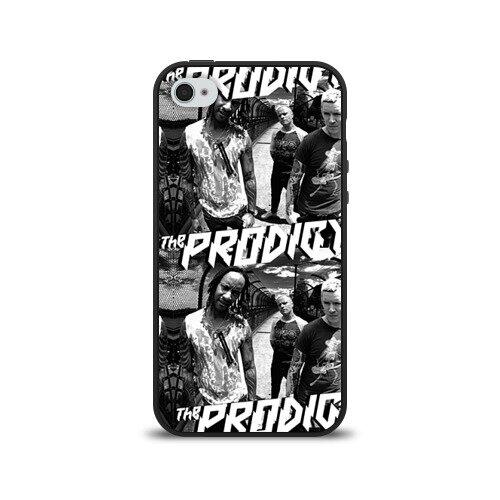 Чехол для Apple iPhone 4/4S силиконовый The Prodigy