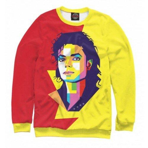 Женский свитшот 3D Майкл Джексон