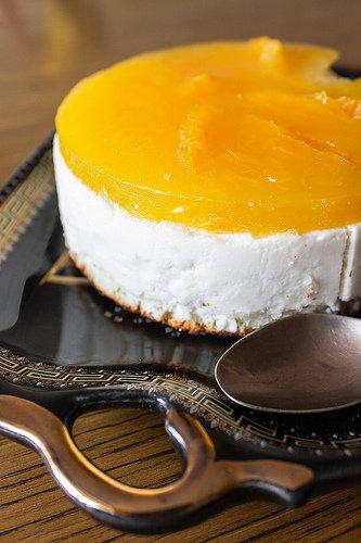 """""""Оранжевый торт"""" с апельсиново-мандариновым желе"""