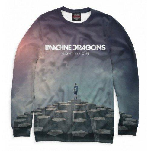Мужской свитшот 3D Imagine Dragons