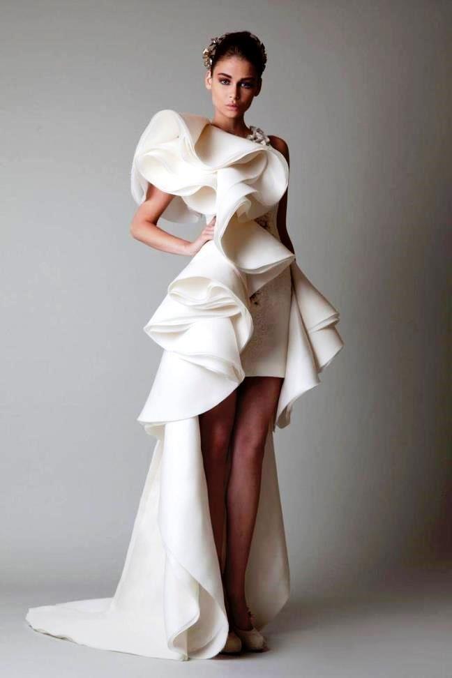 необычное платье картинки свадебное