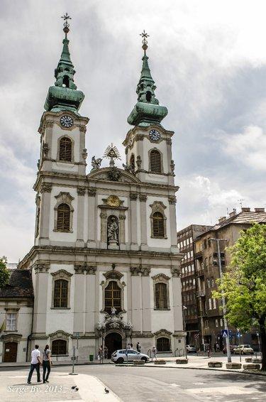 церковь святой анны будапешт