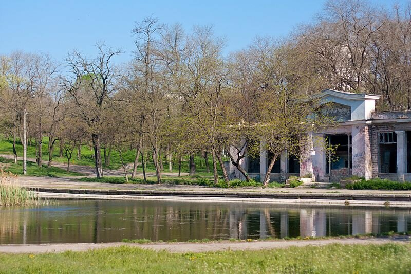 Дюковский сад – один из самых больших и старинных парков Одессы.