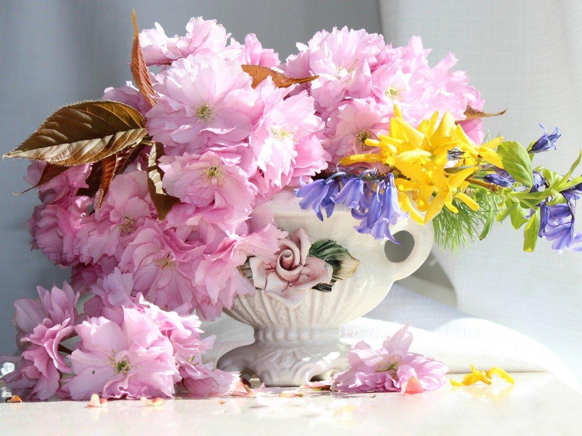 Нежные букеты цветов картинки