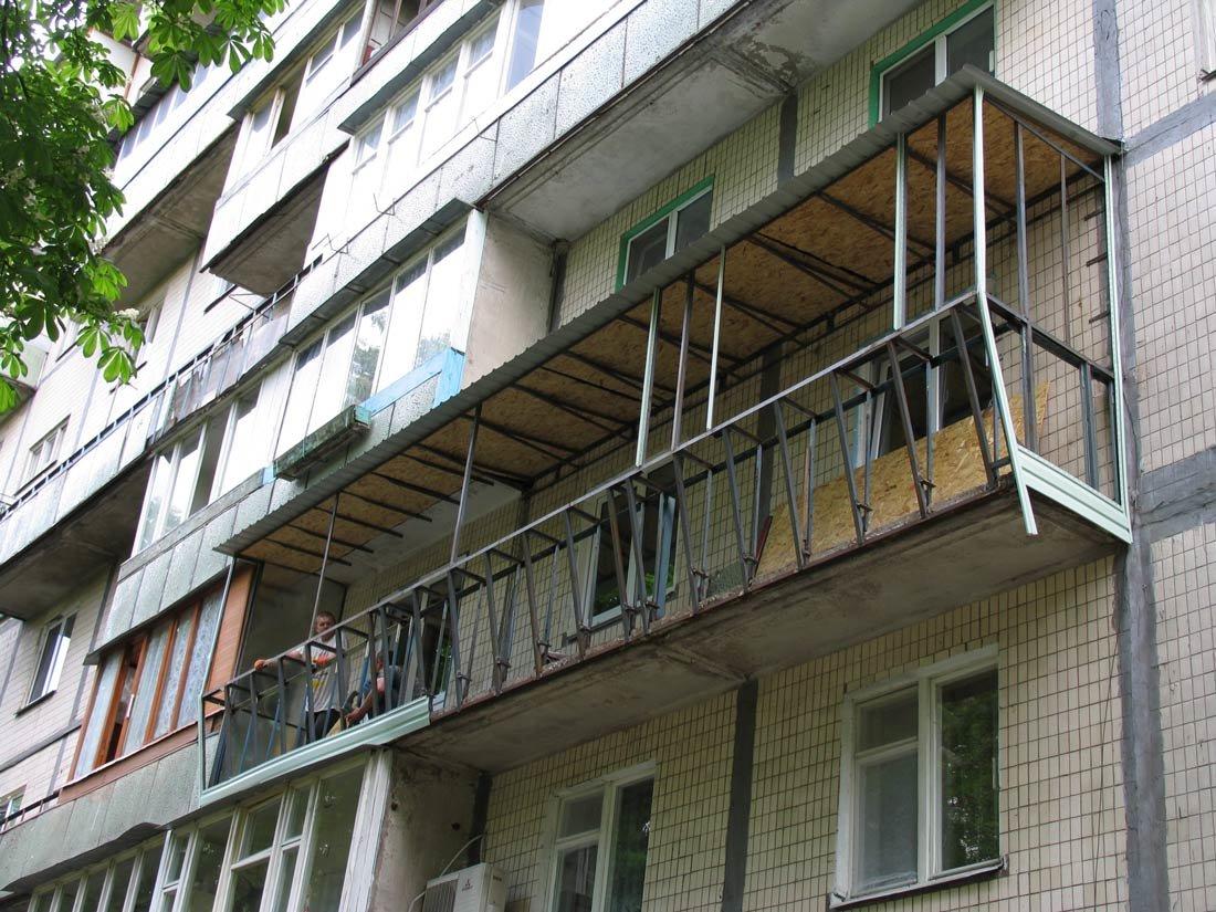 Вынос балкона по подоконнику - фотогалерея окна-траст - окон.