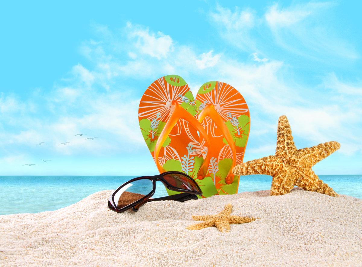 Открытки, открытка лето море