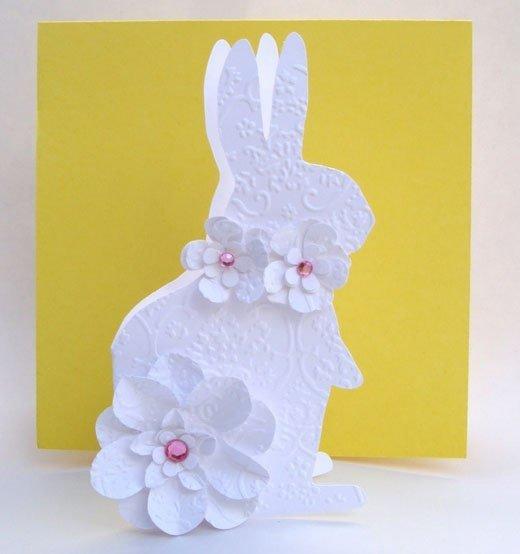 Открытию детского, открытки в виде зайца