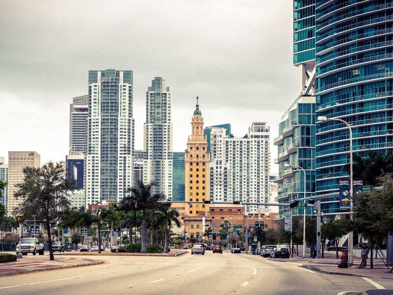 Майами, небоскребы