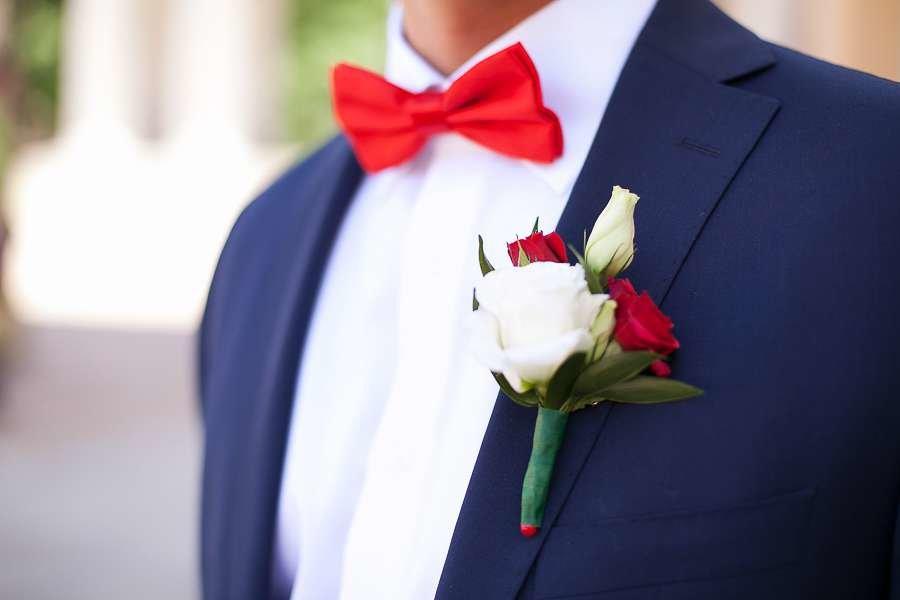 Свадебные бутоньерки в картинках