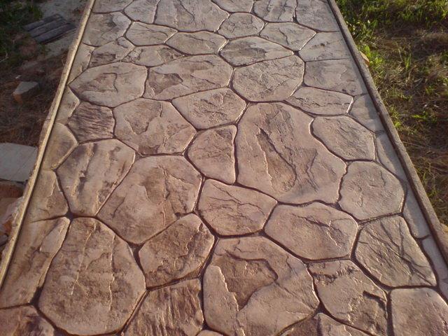 декоративный бетон своими руками технология
