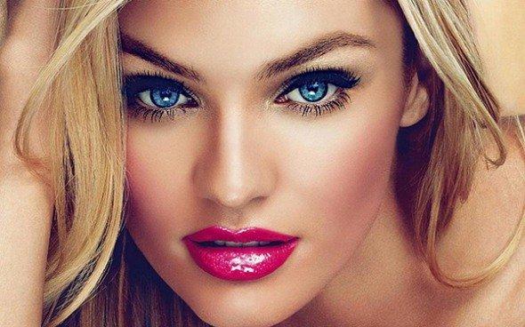 Экспресс макияж, а также маникюр с покрытием гель-лаком и ди