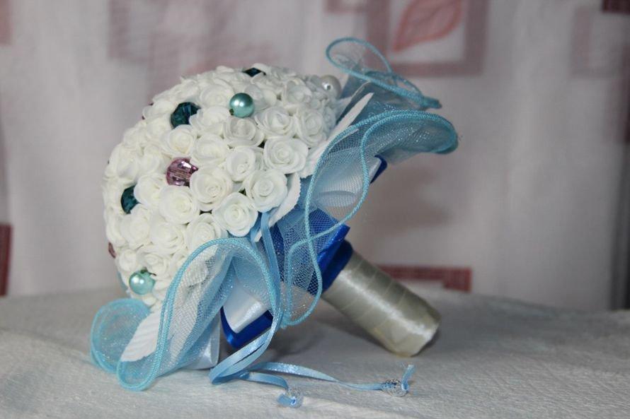 Свадебный букет дублер из фоамирана