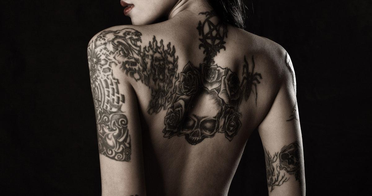 Картинки красивые женские тату