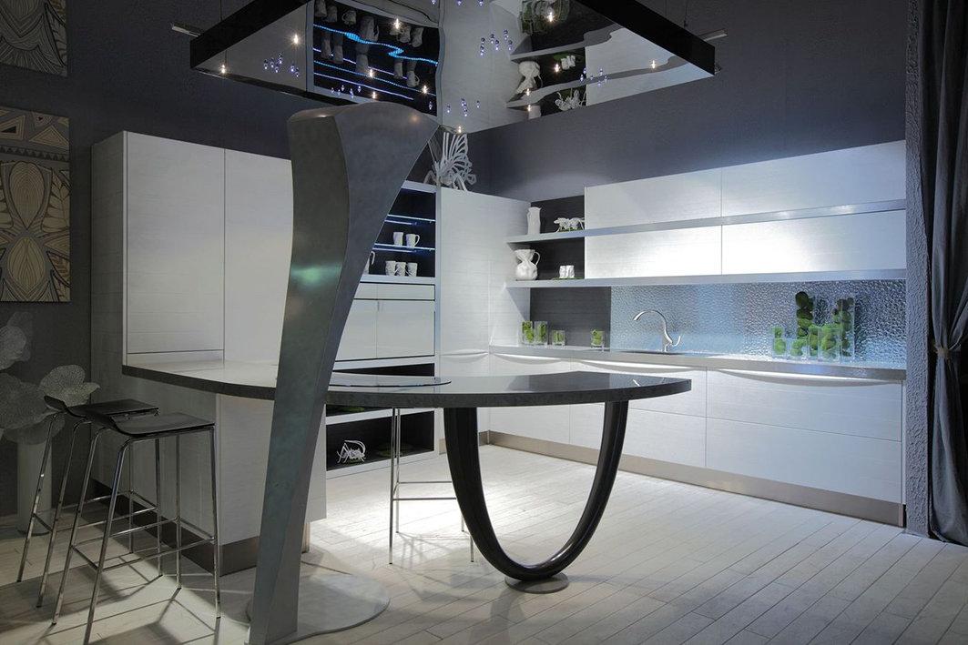 студио кухни с фото хай тек заправки хватает только