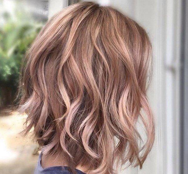 окрашивание коротких волос 2017 фото новинки