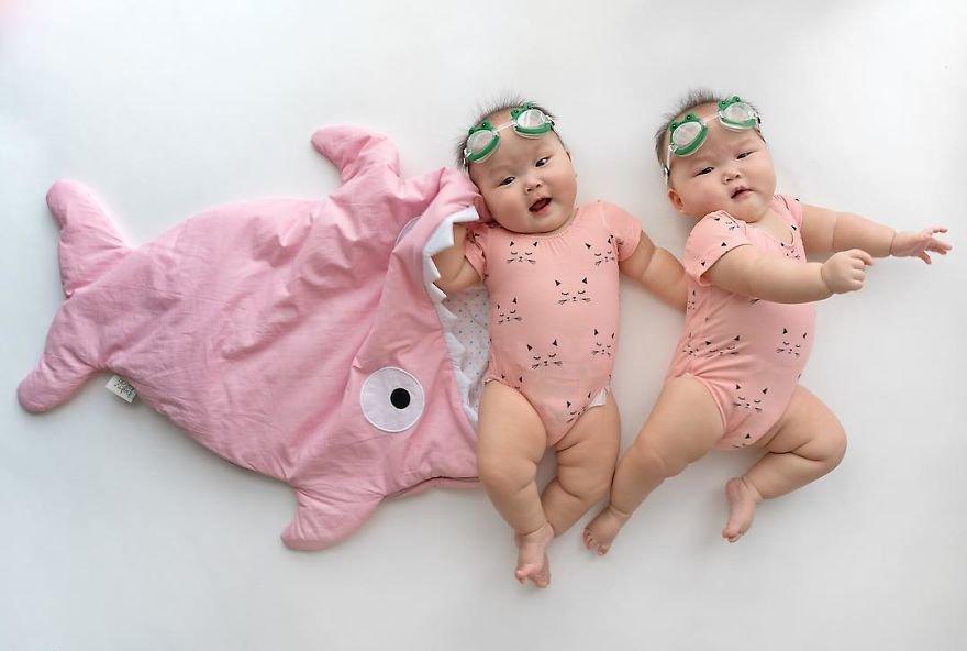 Прикол картинка близнецы