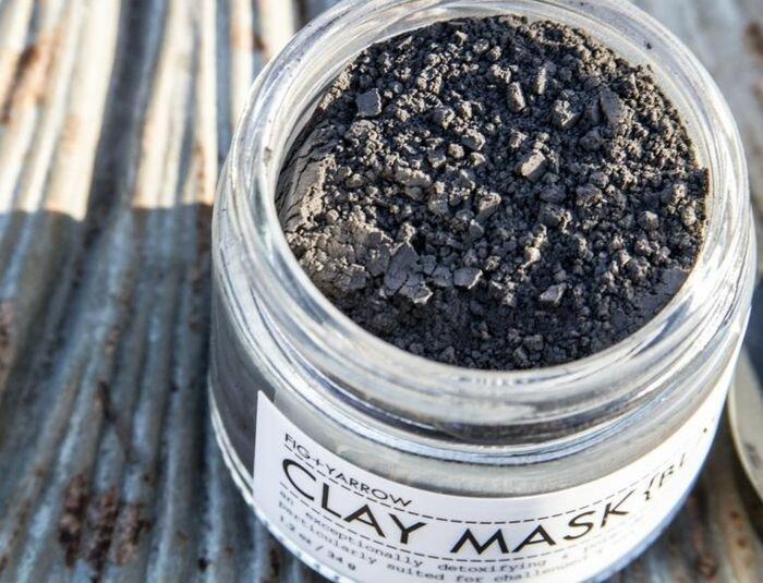 Маски для волос из черной глины в домашних условиях