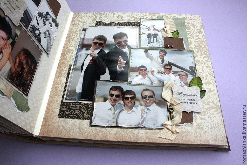 Фотоальбом свадебный своими руками фото