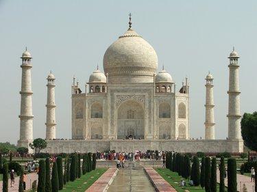 дворец в индии тадж махал