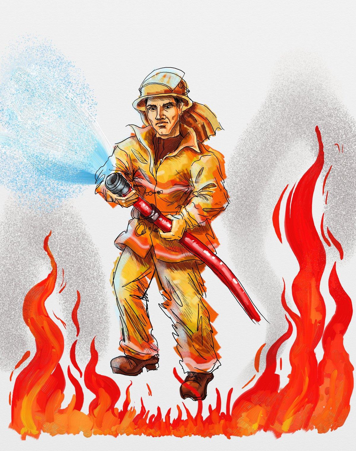 Любимому сохранить, картинки пожарная тематика
