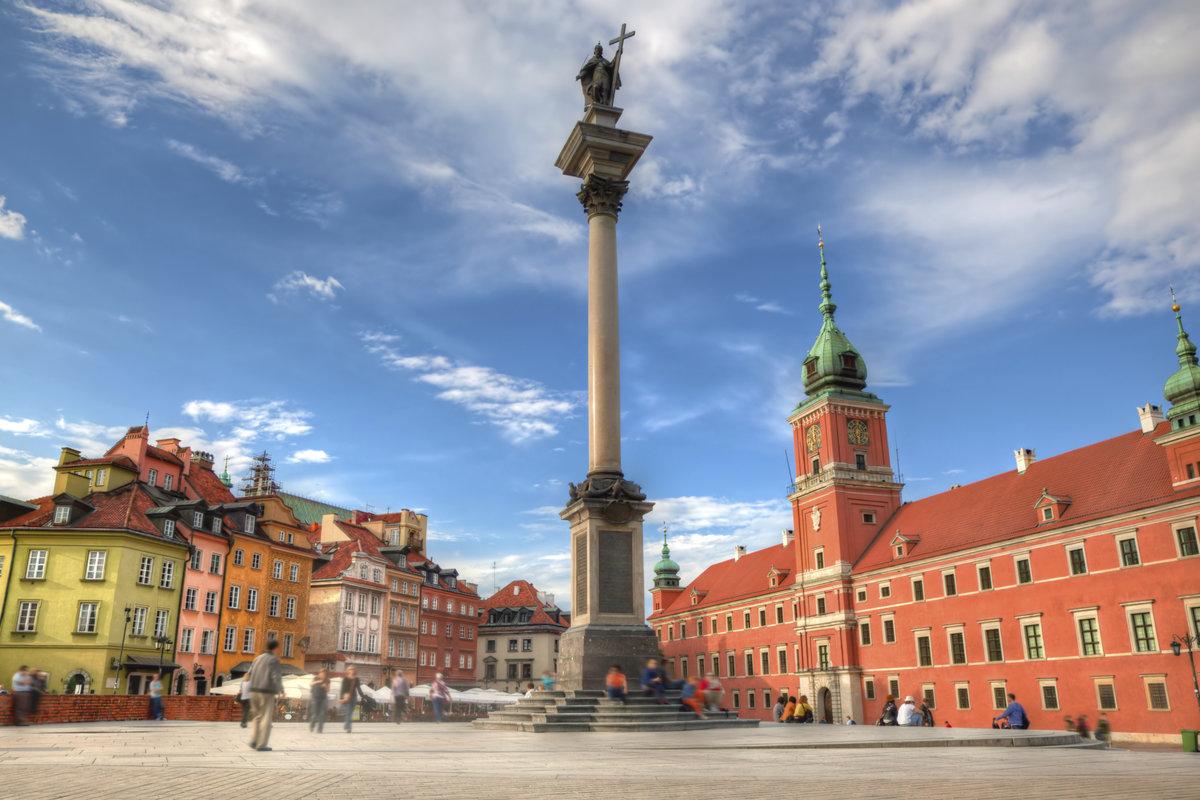 Варшава картинки достопримечательности