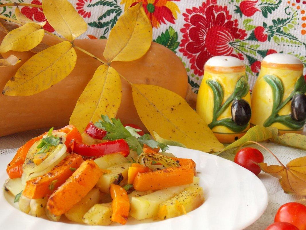 Осеннее блюдо в картинках