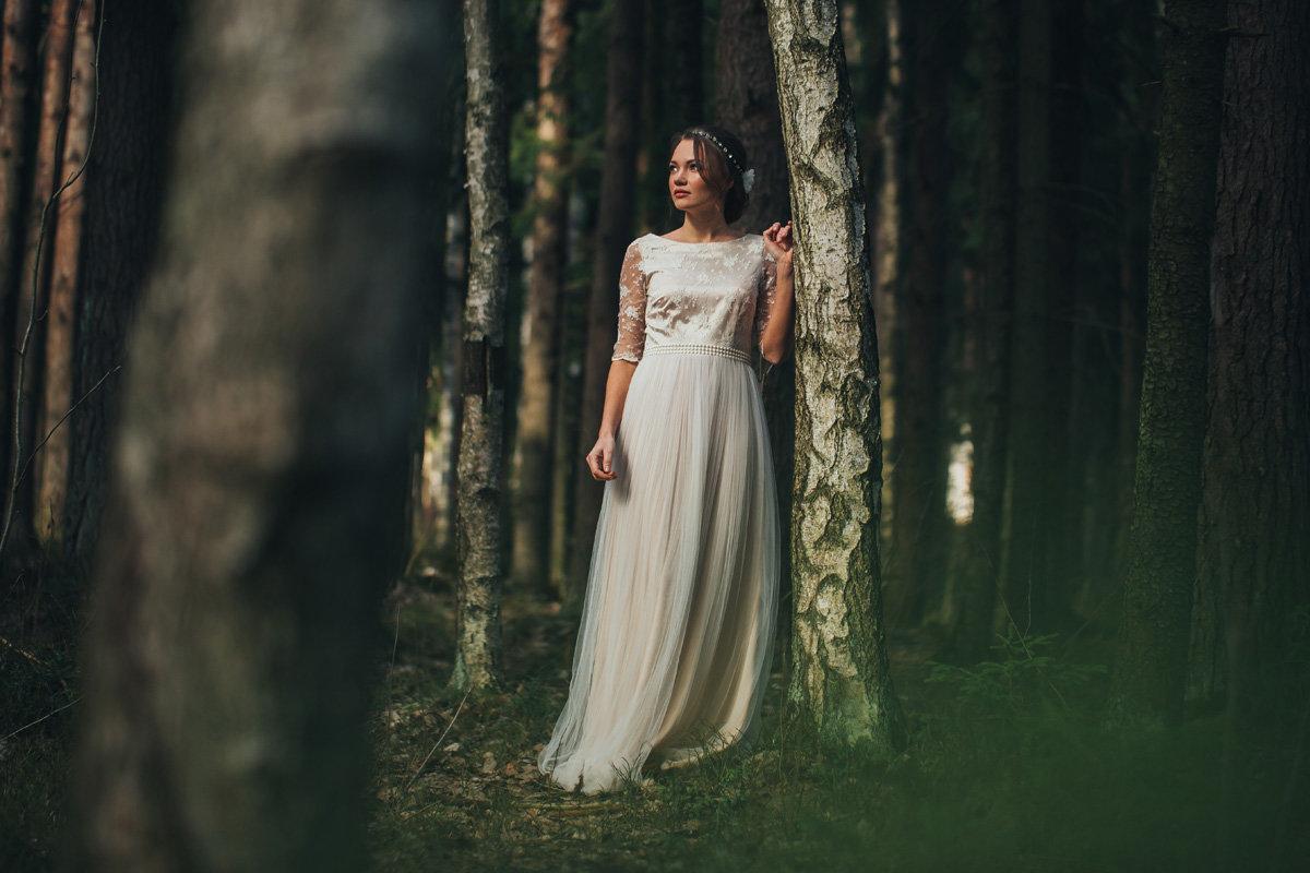 Длинными губками с невестой в лесу досуг питер